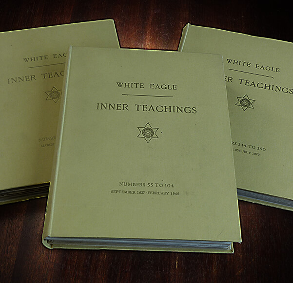 Three White Eagle - Inner Teachings books